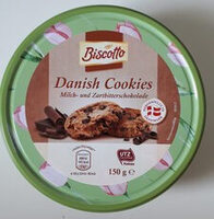Galletas Danesas. Chocolate con leche y chocolate negro - Product