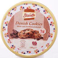 Danish Cookies, Milch- und Zartbitterschokolade - Product - de