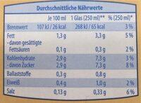 Kokosnuss Drink - Informations nutritionnelles - de