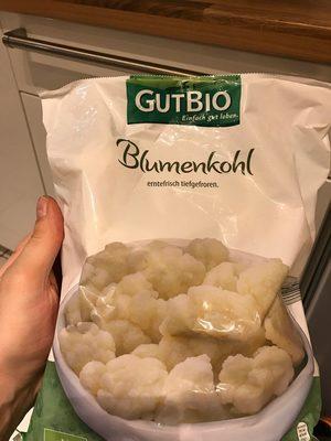 Blumenkohl erntefrisch tiefgefroren - Produit
