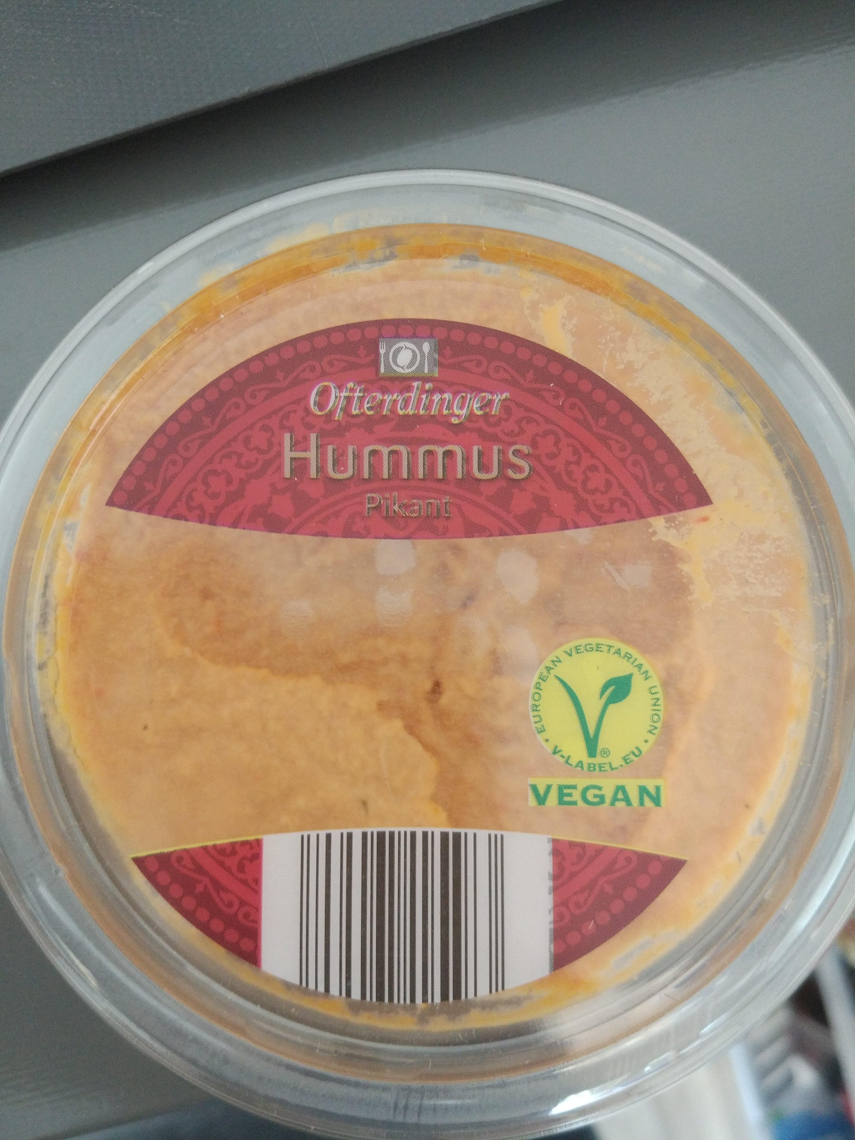 Hummus Pikant oder Kürbis - Produit