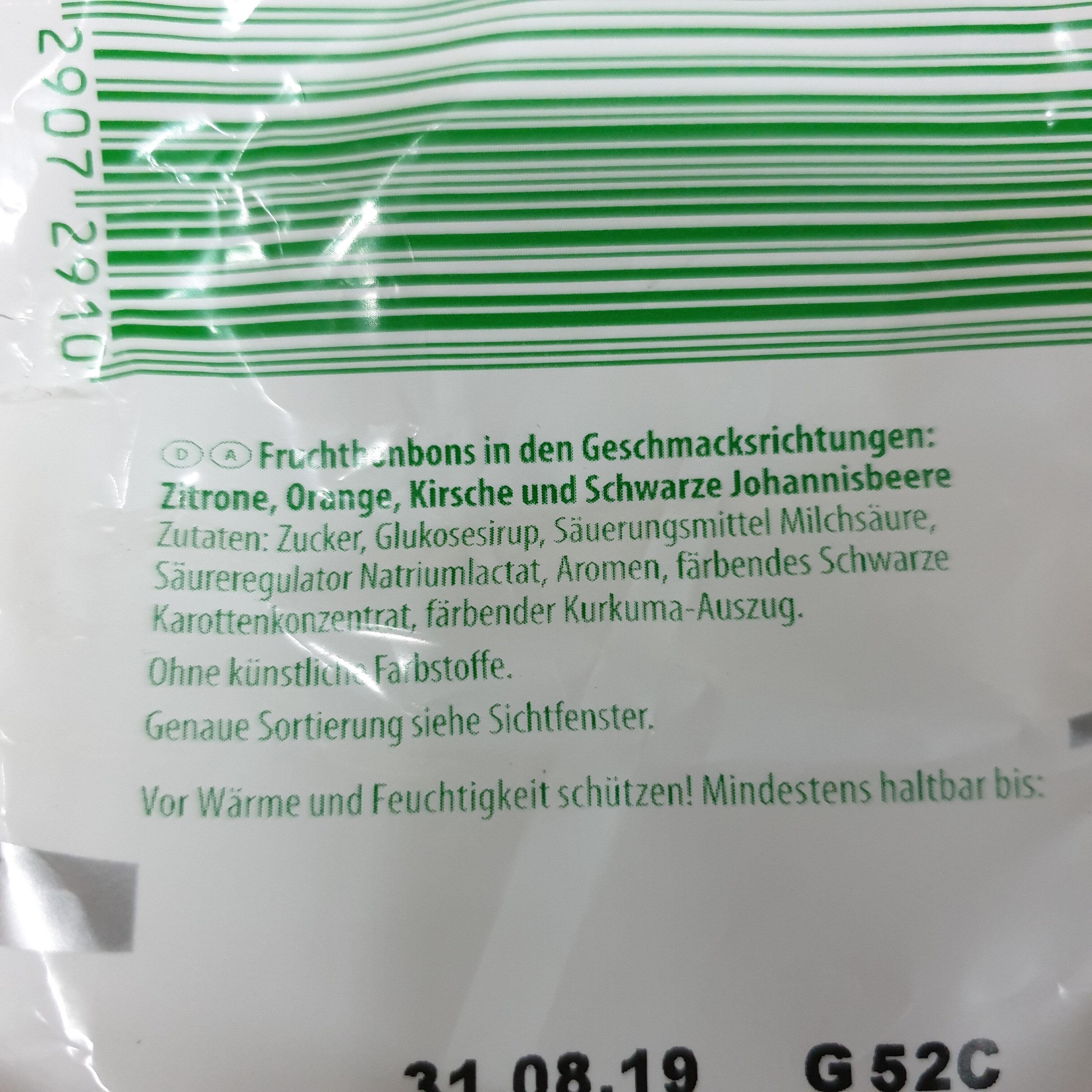 Campino Früchte Bonbon - Ingredients
