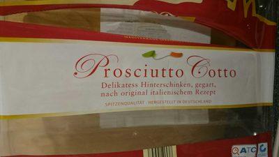 Prosciutto Cotto, Delikatess Hinterschinken - Produkt