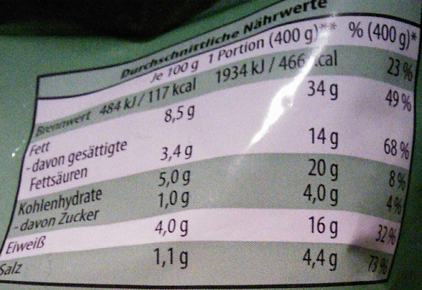 Grünkohl-Pfanne - Die Landküche - 600 g