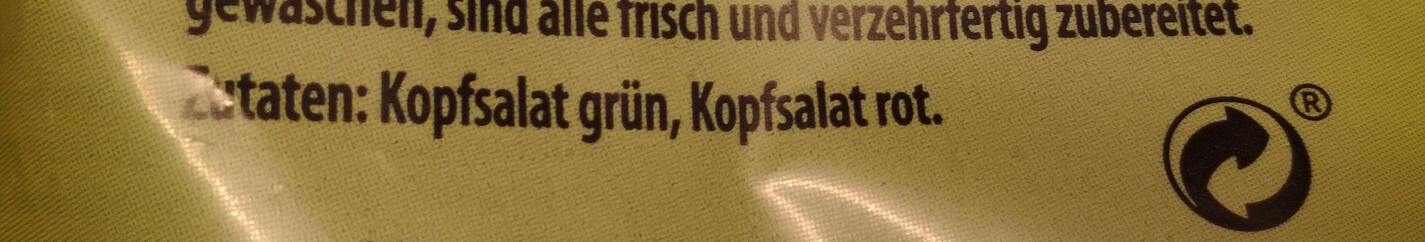 Salanova Kopfsalat - Ingrediënten