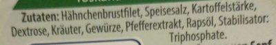 Hähnchenbrust- Filetstücke - Inhaltsstoffe