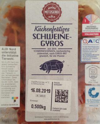 Schweinegyros - Produkt - de