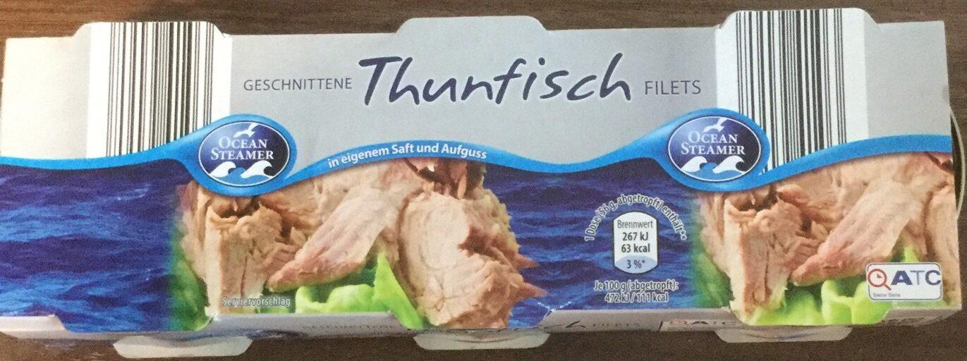 Thunfisch Filet geschnitten - Produkt - de