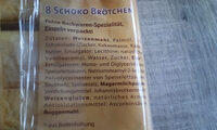 Mon Café Schoko Brötchen - Ingredienti - de