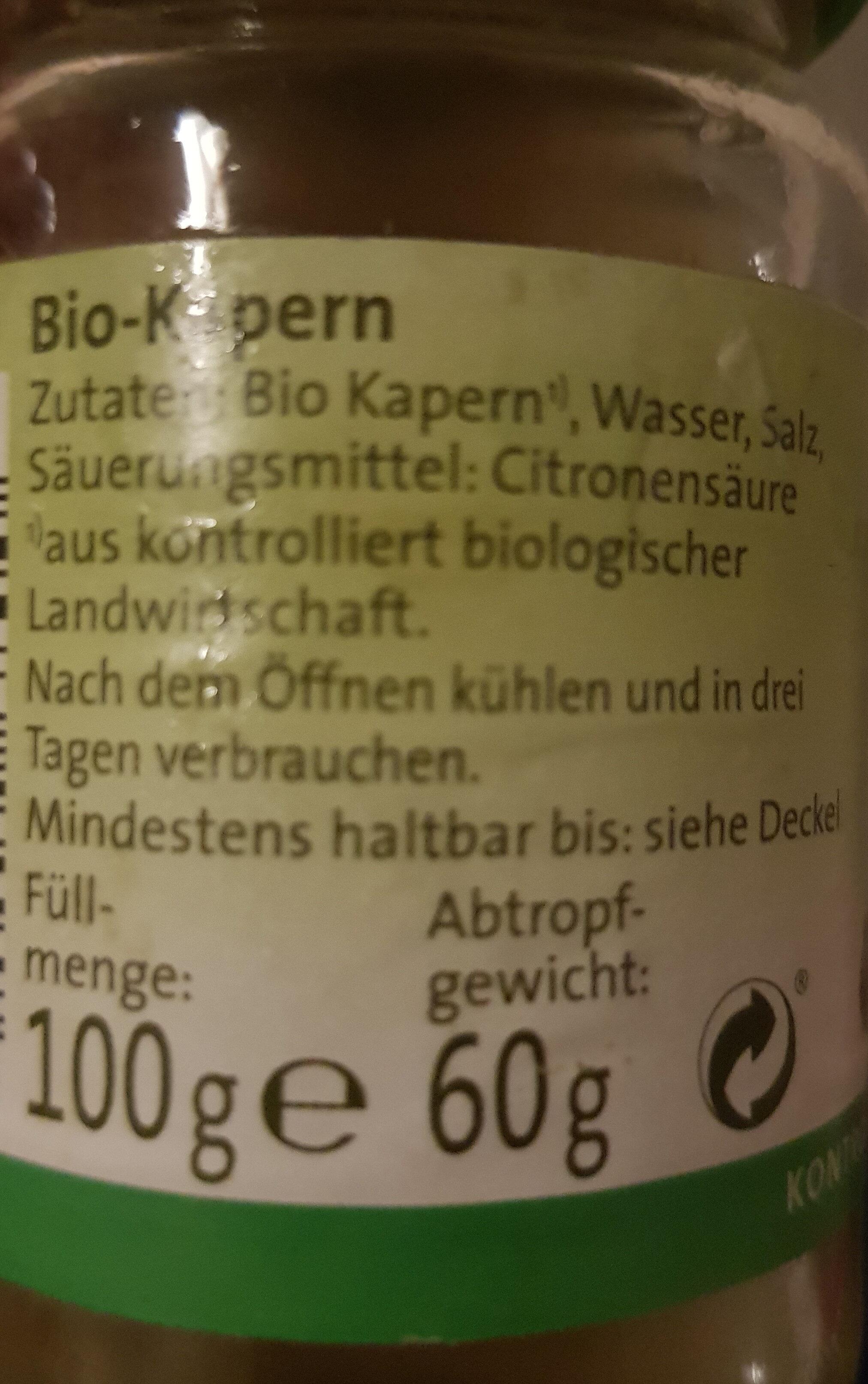Kapern - Ingrediënten - de