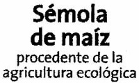 Sémola de maíz - Ingredients