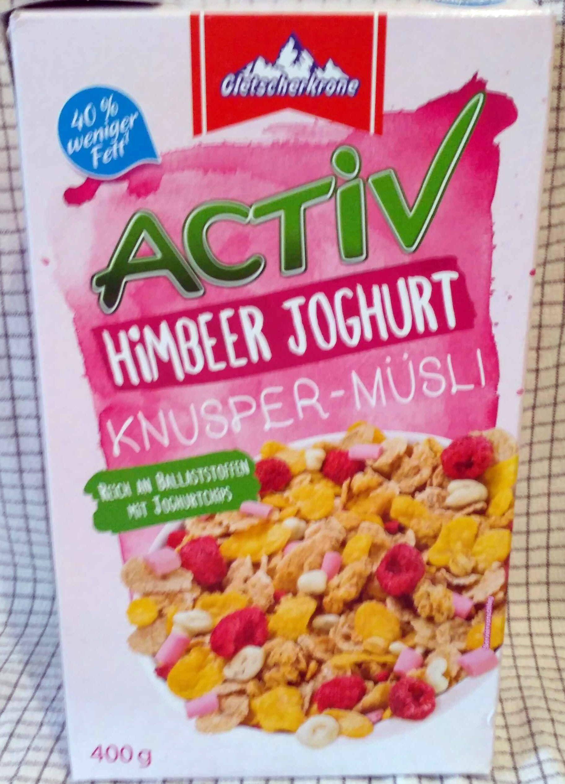 Activ Knusper-Müsli (Himbeer Joghurt, Schoko, Pur) - Product