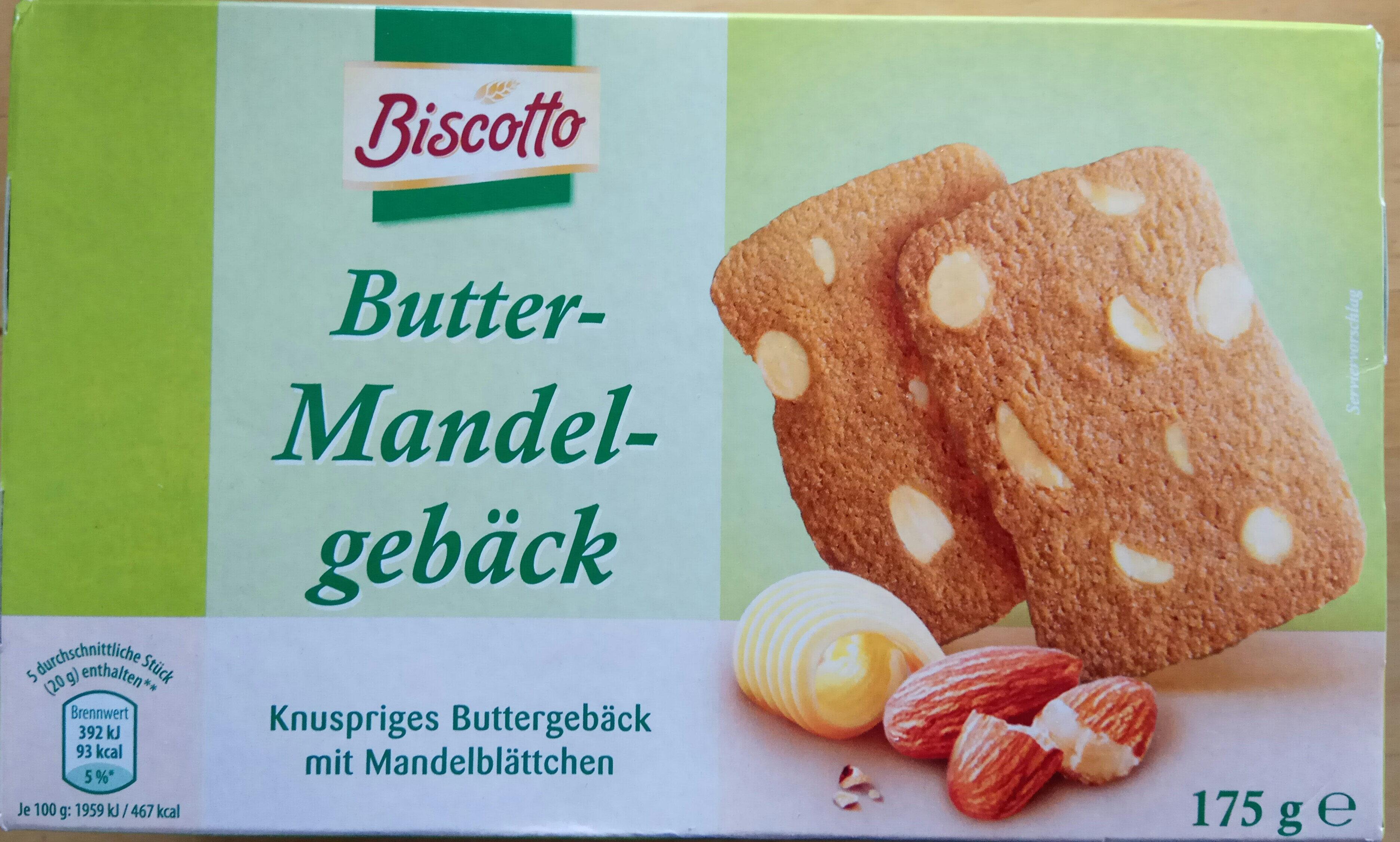 Butter Mandel-gebäck - Product
