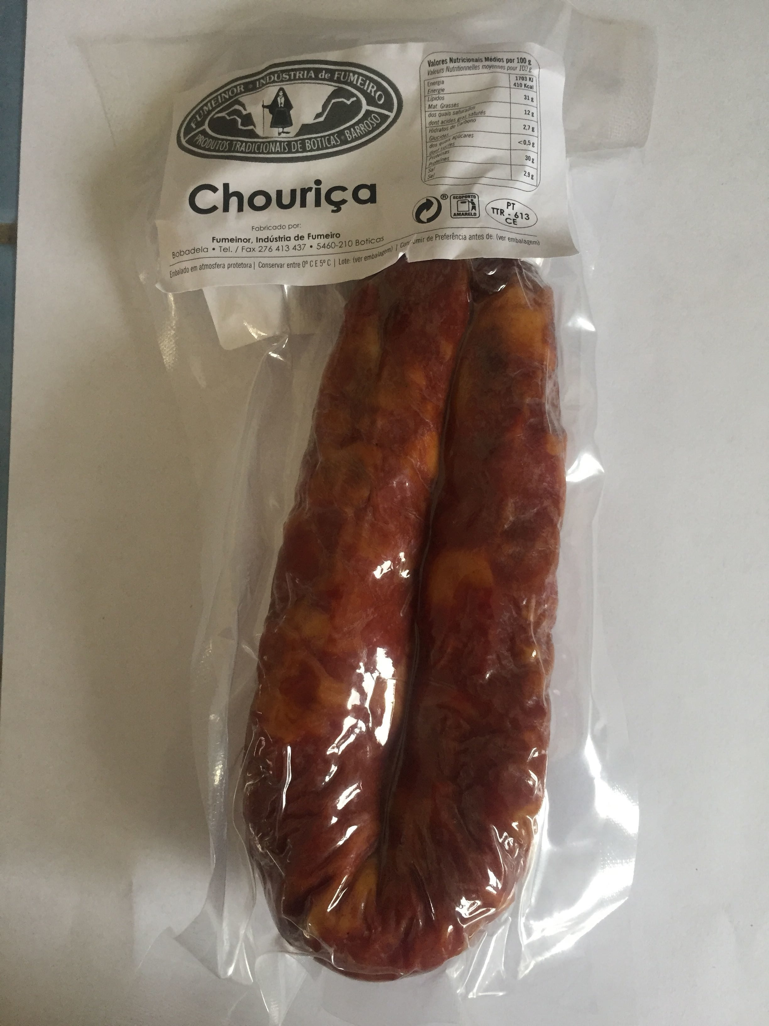 Chouriça carne - Produit - fr