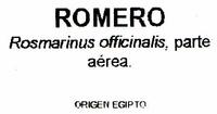 Romero seco molido - Ingrédients