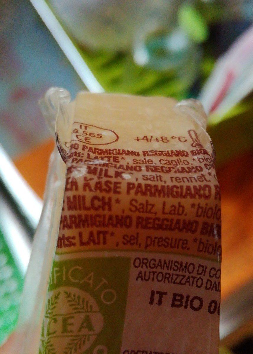 Parmigiano Reggiano - Ingredients - fr