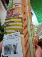 Parmigiano Reggiano - Nutrition facts - fr
