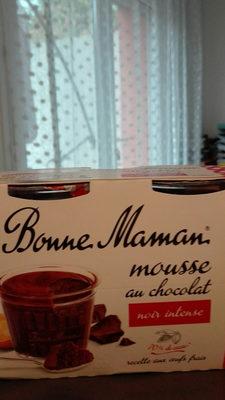 mousse au chocolat noir intense - Product - fr