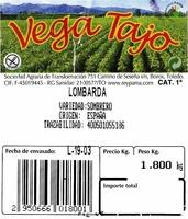 Lombarda - Ingredientes - es