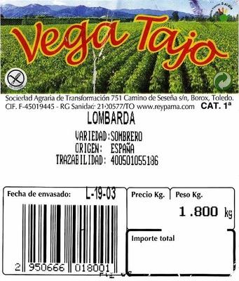 Lombarda - Ingredients