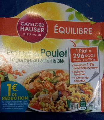 Lentilles cuisinees poulet et petits egumes - Product - fr