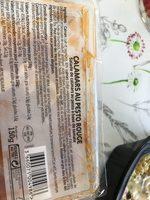 Calamars  au pesto rouge - Ingrédients - fr
