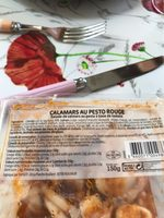 Calamars  au pesto rouge - Informations nutritionnelles - fr