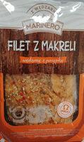 Filet z makreli wędzony z posypką - Produit - pl