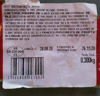 Petit Saucisson Sec au Jambon - Informations nutritionnelles - fr
