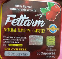Fettarm weight loss support 30 Capsules Square - Ingrédients - en