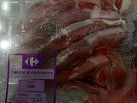 Chuleta de pavo fresca - Prodotto - es