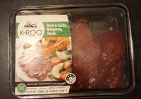 Herb and Garlic Kangaroo Steak - Product