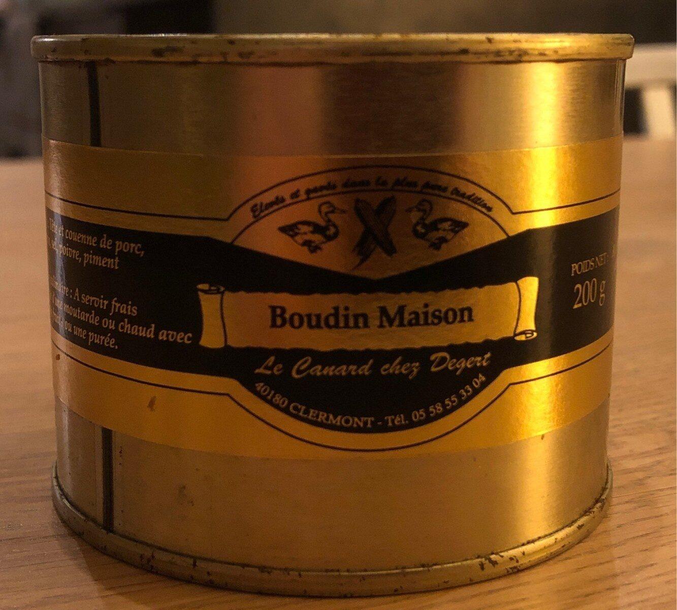 Boudin maison - Product - fr