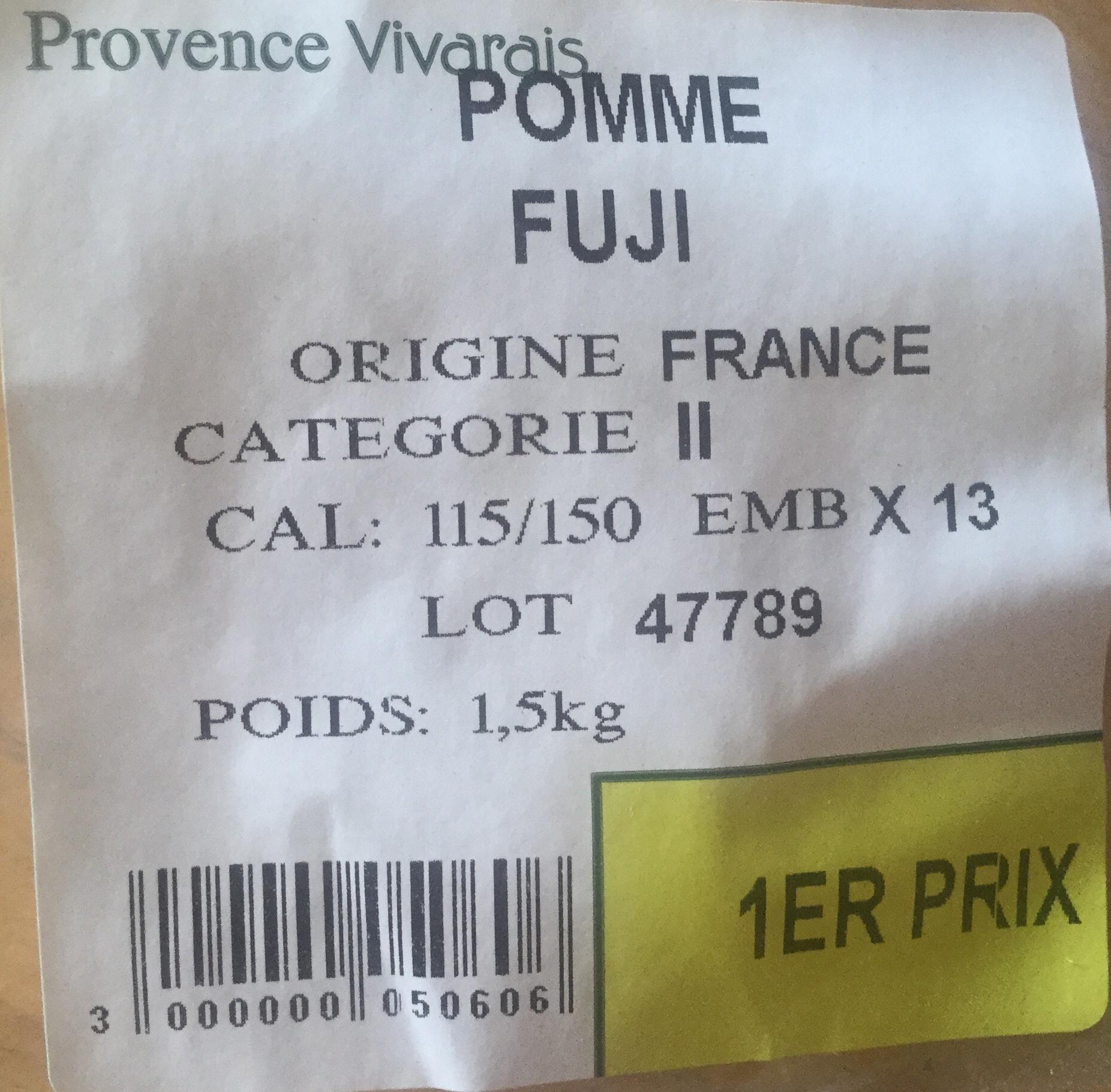 Pomme Fuji - Produit - fr