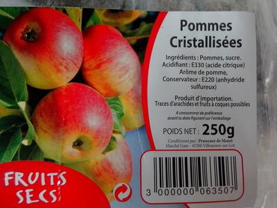 Pommes cristallisees - Product - fr
