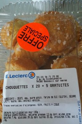 Chouquettes - Product