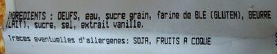 Chouquettes - Ingrediënten