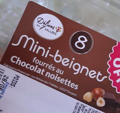 Mini beignets fourrés au chocolat noisette - Produit - fr