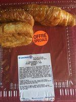 5 croissants + 5 paints chocolats pur beurre - Product