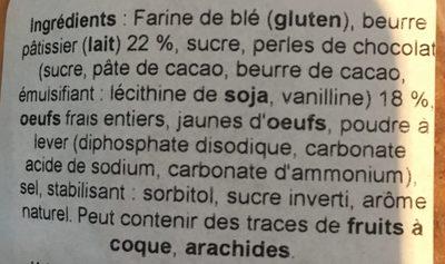 Petit palet breton - Ingrediënten - fr