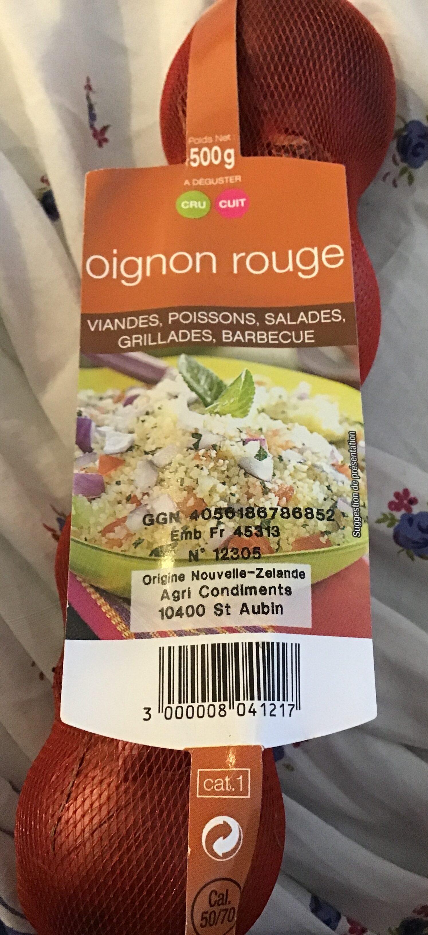 Oignons Rouges - Origine Argentine - Product - fr