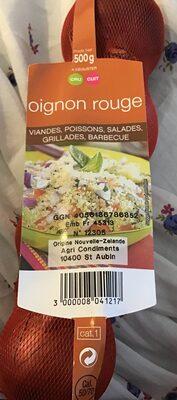 Oignons Rouges - Origine Argentine - Ingredients - fr
