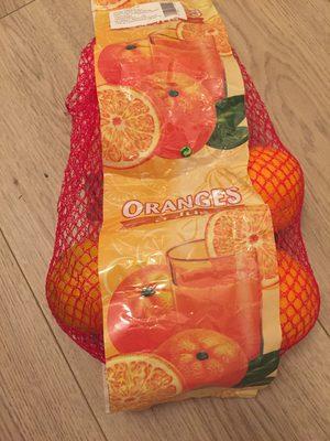 Oranges à jus Valencia late - Produit - fr