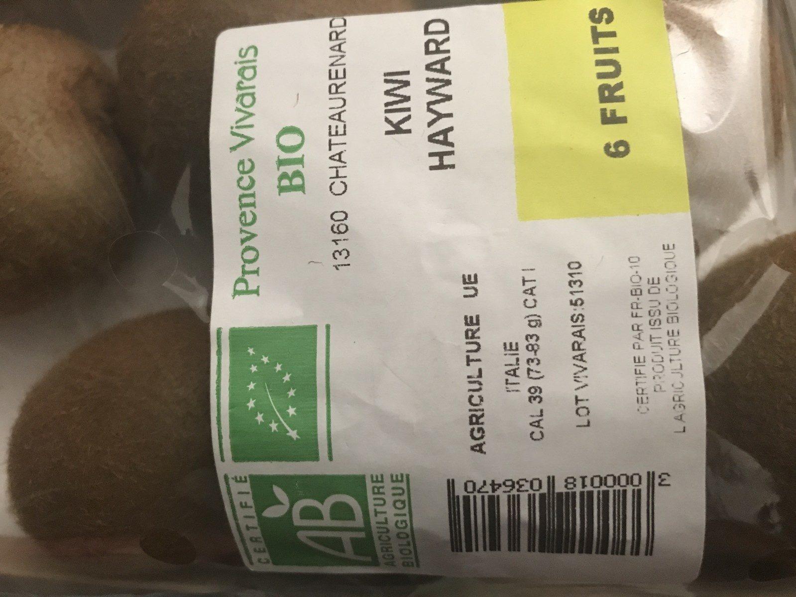 Kiwi hayward - Ingrédients - fr