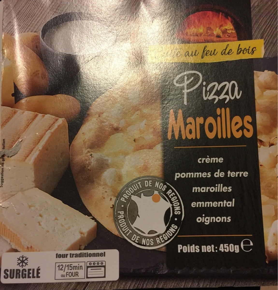 Pizza maroilles - Product