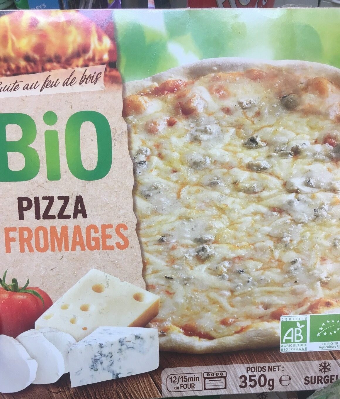 Pizza bio 3 fromages - Produkt