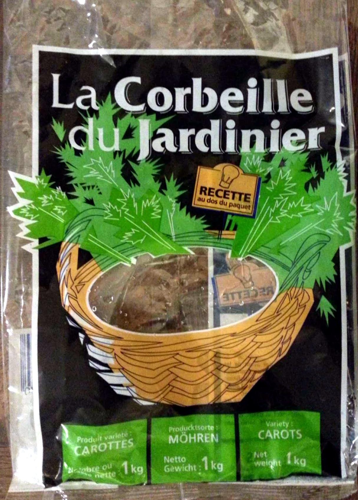 Carottes - Produit