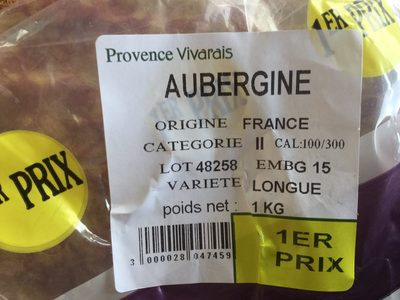 Aubergine - Produit - fr