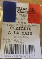 Mache de Provence cueillie à la main - Produit - fr