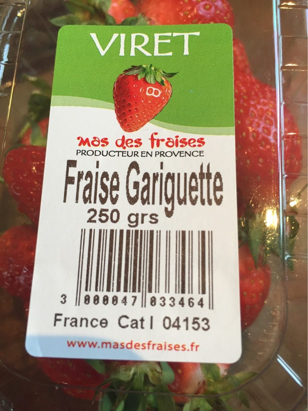 Fraise Gariguette - Product